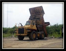 demolition debris removal, solid waste material disposal